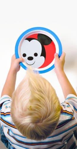 Gechirr Set Zak Designs MMLW-0391 Disney Kindergeschirr-Set, Mickey, 3-teilig