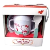 ZAK Geschirr Set Hello Kitty-Set, 3-teilig - 1