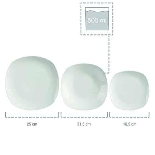 s nger tafelservice 39 bilgola 39 aus porzellan 18 teilig. Black Bedroom Furniture Sets. Home Design Ideas