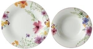 Porzellan Geschirr Set Villeroy & Boch 10-4100-7609 Mariefleur Basic Tafel-Set, Premium Porellan, 12-teilig - 2