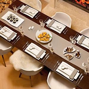 Geschirr Set rechteckig Villeroy & Boch NewWave Antipasti Set / stilvolles Geschirr Set für Antipasti, Vorspeisen, Appetizer / 1 x Set (5-teilig) - 4